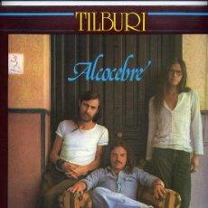 Discos de vinilo: TILBURI. LP 33 RPM. ALCOCEBRE. PSYCH FOLK.CARPETA PORTADA ABIERTA.MOVIEPLAY GONG AÑO 1976. Lote 36418067