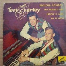 Discos de vinilo: TONY AND CHARLEY ( VER FOTOS). Lote 28903202