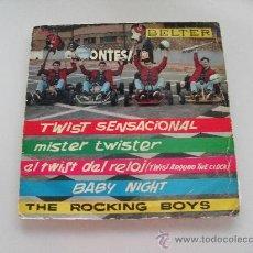 Discos de vinilo: ROCKING BOYS - TWIST SENSACIONAL + 3 EP 1962. Lote 28913043