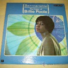 Discos de vinilo: BILLIE POOLE - USA 1959 - . Lote 28917040
