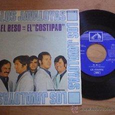 Discos de vinilo: LOS JAVALOYAS `EL BESO` 1969. Lote 28923227