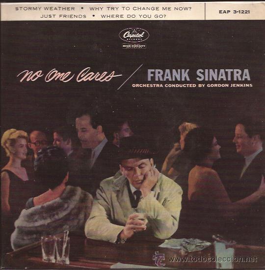 EP-FRANK SINATRA-CAPITOL 3-1221-EDIC.ESPAÑOLA (Música - Discos de Vinilo - EPs - Jazz, Jazz-Rock, Blues y R&B)