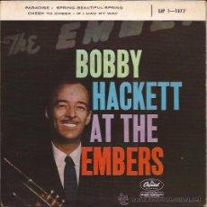 Discos de vinilo: EP-BOBBY HACKETT-CAPITOL 1-1077-FRANCE-195???. Lote 28942436