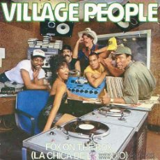 Discos de vinilo: VILLAGE PEOPLE - FOX ON THE BOX - 1982 (NUEVO). Lote 28957913