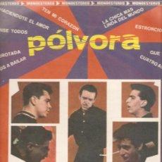 Discos de vinilo: LP LOS LOCOS DEL RITMO : POLVORA - EDITADO EN MEXICO (RAY CHARLES, FLOYD ROBINSON ). Lote 28959069