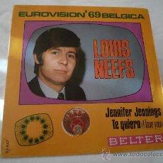Discos de vinilo: LOUIS NEEFS - JENNIFER JENNINGS . Lote 29040037