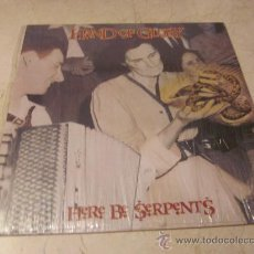 Discos de vinilo: HAND OF GLORY - HERE BE SERPENTS LP - SKYCLAD 1991. Lote 28963118