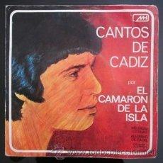 Discos de vinilo: CAMARÓN - CANTOS DE CÁDIZ - 1971 (GUITARRA: ANTONIO ARENAS). Lote 28968038