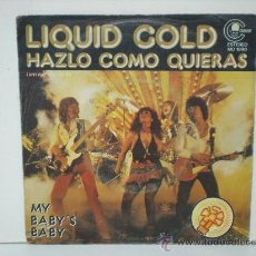 Discos de vinilo: LIQUID COLD. Lote 28969493