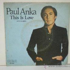 Discos de vinilo: PAUL ANKA. Lote 28970014
