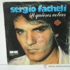 Discos de vinilo: SERGIO FACHELI. Lote 28970416