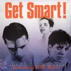 Discos de vinilo: GET SMART! - SWIMMING WITH SHARKS - (HOLANDA-1986) PUNK LP. Lote 28980467