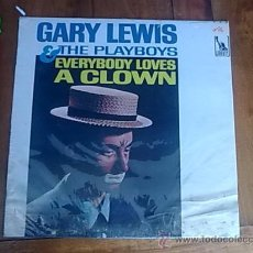 Discos de vinilo: LP GARY LEWIS AND THE PLAYBOYS 1965 ORIGINAL USA EVERYBODY LOVES CLOWN PORTADA VG DISCO EXCELENTE++/. Lote 28983529