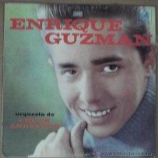 Discos de vinilo: LP ENRIQUE GUZMAN, MEXICANO GRABADO EN 1961. Lote 28987407
