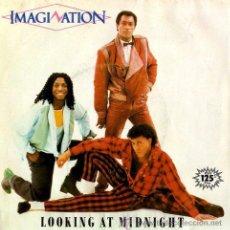 Discos de vinilo: IMAGINATION ··· LOOKING AT MIDNIGHT / FOLLOW ME - (SINGLE 45 RPM) ··· VINILO NUEVO. Lote 28993314