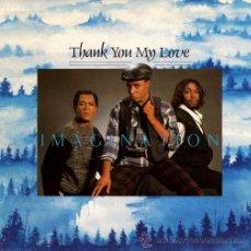 Discos de vinilo: IMAGINATION ··· THANK YOU ME LOVE / POINT OF NO RETURN - (SINGLE 45 RPM) ··· NUEVO. Lote 28993331