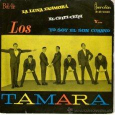 """Discos de vinilo: LOS TAMARA - EP SINGLE VINILO 7"""" - EDITADO EN ESPAÑA - EL CHIPI CHIPI + 3 - AÑO 1962. Lote 28999818"""