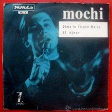 Discos de vinilo: MOCHI SPANISH YE-YE 45 PS 1965 EL AJUAR - NOVOLA NO-6 - PROMO WHITE LABEL PRE MEGATON YE-YE. Lote 29006936