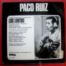 Discos de vinilo: PACO RUIZ & LOS LENTOS EP 1969 GO-GO GIRLS - . Lote 29088912