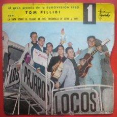 Discos de vinilo: PAJAROS LOCOS EP SPAIN 1960 VARIETY 10005 VERSION EUROVISION - MUY RARO . Lote 29089125