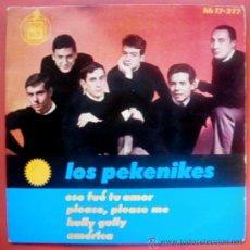 Discos de vinilo: PEKENIKES JUAN PARDO - EP SPAIN 1964 - BEATLES COVER - HISPAVOX 17-277. Lote 29089341