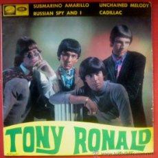 Discos de vinilo: TONY RONALD EP SPAIN 1966 EMI-14297 - BEATLES - RUSSIAN SPY AND I - THE REGENTS. Lote 30027777