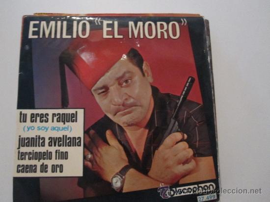 EMILIO EL MORO - YO SOY AQUEL (VERSION DE RAPHAEL) EP (Música - Discos de Vinilo - EPs - Solistas Españoles de los 50 y 60)
