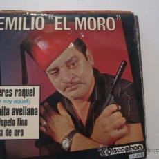 Discos de vinilo: EMILIO EL MORO - YO SOY AQUEL (VERSION DE RAPHAEL) EP. Lote 29003787
