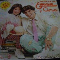 Discos de vinilo: MULTIPLICA CON ENRIQUE Y ANA- TEXTOS DE GLORIA FUERTES. Lote 29010016