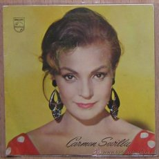 Discos de vinilo: CARMEN SEVILLA. COPLA, CANCION ESPAÑOLA. PHILIPS. Lote 29013253