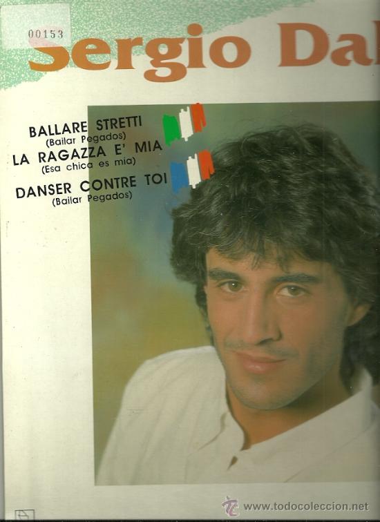 SERGIO DALMA CANTA EN FRANCES Y ITALIANO MAXI-SINGLE SELLO HORUS AÑO 1991 (Música - Discos de Vinilo - Maxi Singles - Solistas Españoles de los 70 a la actualidad)