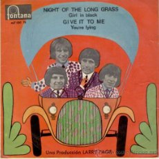 Discos de vinilo: THE TROGGS - NIGHT OF THE LONG GRASS - GIRL IN BLACK + 2 - 1967. Lote 29015961
