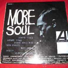 Discos de vinilo: LP-HANK CRAWFORD-MORE SOUL-ATLANTIC 332058-FRANCE-1960-JAZZ. Lote 29022454