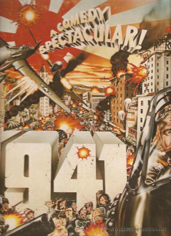 LP 1941 (STEVEN SPIELBERG, JOHN WILLIAMS ) (Música - Discos - LP Vinilo - Bandas Sonoras y Música de Actores )