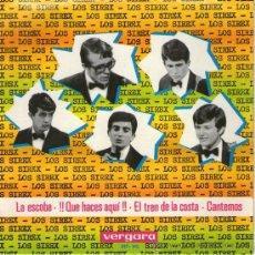 """Discos de vinilo: LOS SIREX - EP SINGLE VINILO 7"""" - LA ESCOBA + 3 - VERGARA 1965. Lote 29024501"""