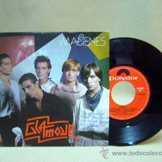Discos de vinilo: DISCO DE VINILO, GLAMOUR, IMAGENES, 1981, 45 RPM, 2 TEMAS, FIRMADO. Lote 29037916