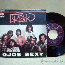 Discos de vinilo: DISCO DE VINILO, DR. ROCK, OJOS SEXY, 006 086105, EMI, 2 TEMAS, 45 RPM, 1980. Lote 29052016