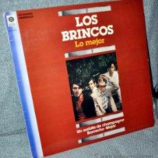 Discos de vinilo: LOS BRINCOS - LO MEJOR - LP ALBUM VINILO 12' - 10 TRACKS - EDITADO EN ESPAÑA - ZAFIRO 1982. Lote 29039813
