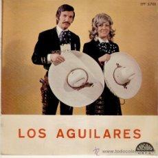 Discos de vinilo: LOS AGUILARES - HOMENAJE A PEDRO INFANTE - VIVA ESPAÑA + 2 - EP EDICION PORTUGUESA. Lote 29039988