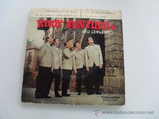 RUDY VENTURA - CARNAVALITO GITANO + 3 EP 1961 (Música - Discos de Vinilo - EPs - Grupos Españoles 50 y 60)