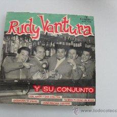 Discos de vinilo: RUDY VENTURA - PAN, AMOR Y CHA-CHA-CHA + 3 EP 1959. Lote 140499332