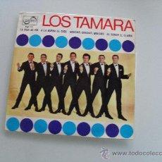 Discos de vinilo: LOS TAMARA - GRACIAS, GRACIAS + 3 EP 1966. Lote 29040608