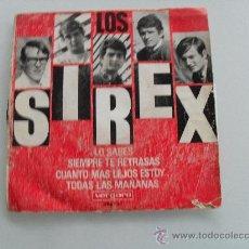 Discos de vinilo: SIREX - LO SABES + 3 EP 1966. Lote 29040710