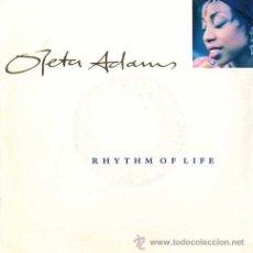 Discos de vinilo: OLETA ADAMS ··· RHYTHM OF LIFE / DON'T LOOK TOO CLOSELY - (SINGLE 45 RPM) ··· NUEVO. Lote 29042837