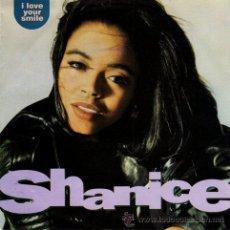 Discos de vinilo: SHANICE ··· I LOVE YOUR SMILE / I LOVE YOUR SMILE (INSTRUMENTAL) - (SINGLE 45 RPM) ··· NUEVO. Lote 29042925