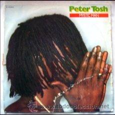 Discos de vinilo: PETER TOSH. LP. MYSTIC MAN. 1979.. Lote 261697230