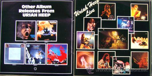 Discos de vinilo: URIAH HEEP. LP. DOBLE. LIVE. JANUARY 1973. - Foto 2 - 29053187