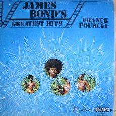 Discos de vinilo: LP - FRANCK POURCEL - JAMES BOND'S GREATEST HITS - EDICION ESPECIAL PARA CIRCULO DE LECTORES 1974. Lote 29055269