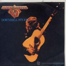 Dischi in vinile: JOHN DENVER / DOWNHILL STUFF / LIFE IS SO GOOD (SINGLE PROMO 79). Lote 29057195