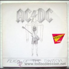 Discos de vinilo: AC-DC - LP . FLICK OF THE SWITCH . ATLANTIC 1983. Lote 29058290